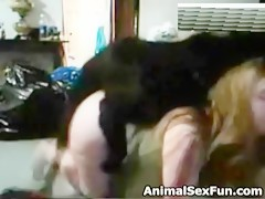Great orgy with animal