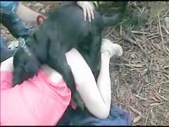 Follada en el bosque